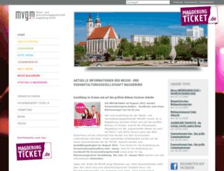 mvgm-online.de screenshot