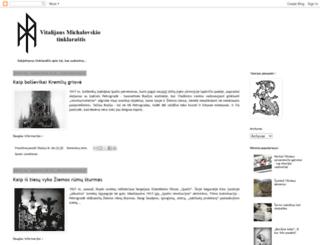 mvitalijus.blogspot.lt screenshot