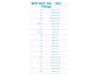 mvpreit.com screenshot