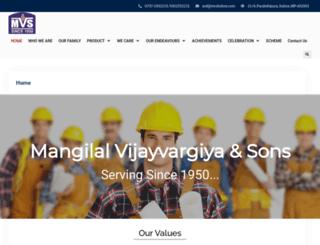 mvsindore.com screenshot