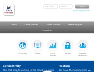 mwebbusiness.co.za screenshot