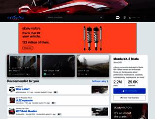 mx5nutz.com screenshot