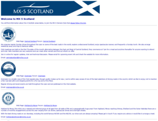 mx5scotland.co.uk screenshot