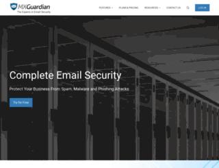 mxguardian.net screenshot