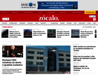 mxwwwwww.zocalo.com.mx screenshot
