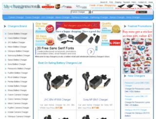 my-chargers.co.uk screenshot