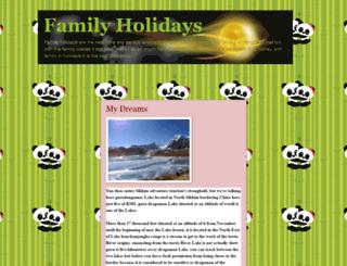 my-family-holidays.blogspot.com screenshot