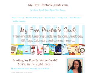 my-free-printable-cards.com screenshot