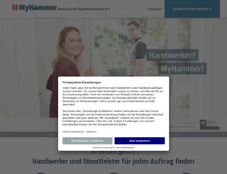 my-hammer.de screenshot