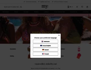 my-jewellery.com screenshot