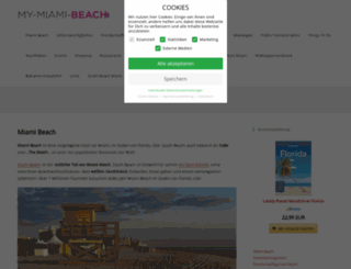 my-miami-beach.de screenshot