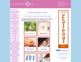 my-practical-baby-guide.com screenshot