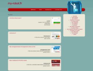 my-robot.fr screenshot