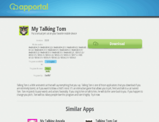 my-talking-tom.apportal.co screenshot