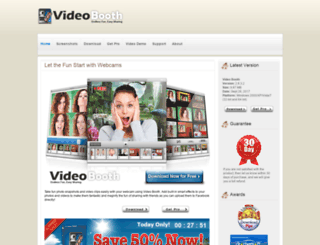 my-video-booth.com screenshot