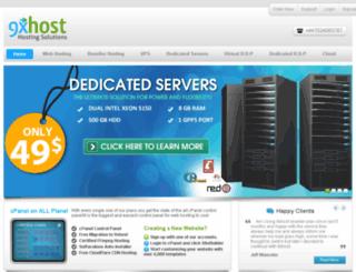 my.9xhost.info screenshot