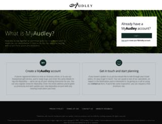 my.audleytravel.com screenshot