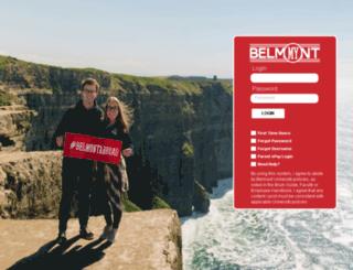 my.belmont.edu screenshot