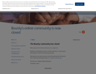 my.bounty.com screenshot