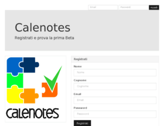 my.calenotes.com screenshot