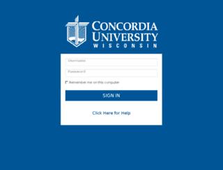my.cuw.edu screenshot