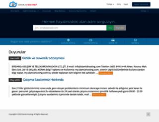 my.damlahosting.com screenshot