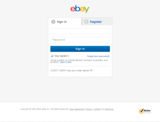 my.ebay.com.au screenshot