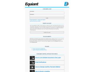 my.equiant.com screenshot