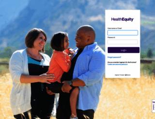 my.healthequity.com screenshot
