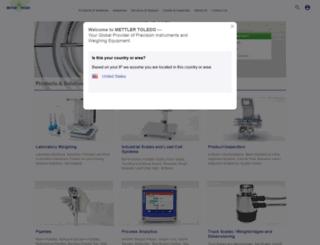 my.mt.com screenshot