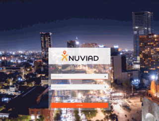 my.nuviad.com screenshot