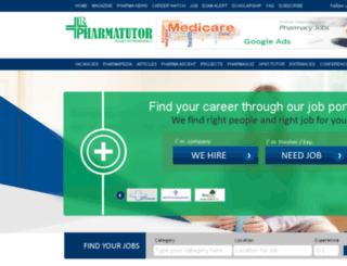 my.pharmatutor.org screenshot