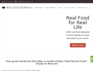 my.realfoodworks.com screenshot