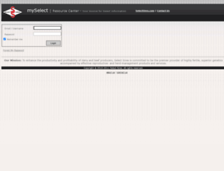my.selectsires.com screenshot