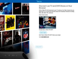 my.tablotv.com screenshot
