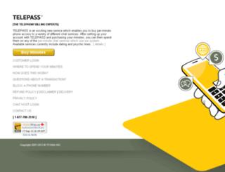 my.telepass.cc screenshot