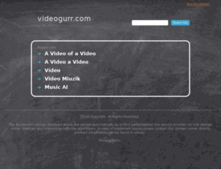 my.videogurr.com screenshot