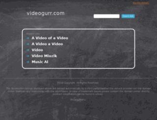 my.videogurr.com screenshot