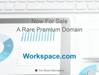 my.workspace.com screenshot