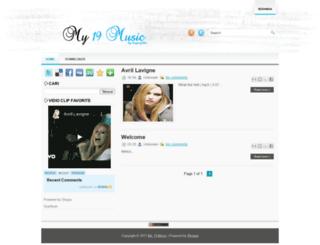 my19music.blogspot.com screenshot