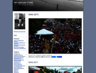 my_sarisari_store.typepad.com screenshot