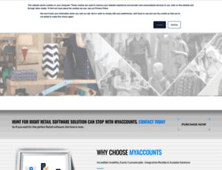 myaccounts.in screenshot