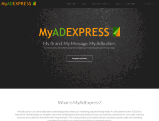 myadexpress.com screenshot