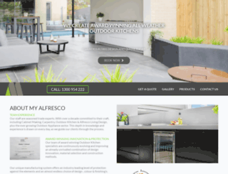 myalfresco.com screenshot