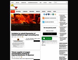 myanmar-business.org screenshot