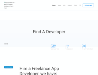 myappbuilder.com screenshot