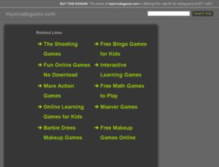 myarcadegame.com screenshot