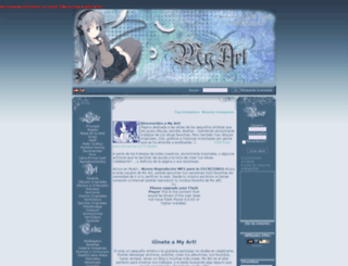 myart.es screenshot