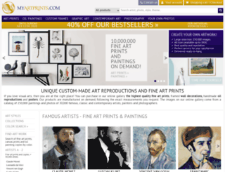 myartprints.com screenshot