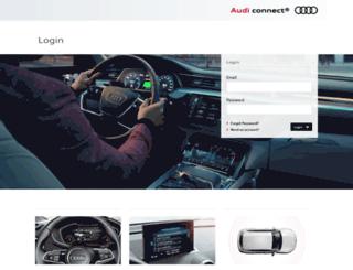 myaudiconnect.com screenshot